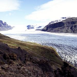 Skaftafellsjökull from Skaftafellsheidi