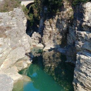 Marmitte dei giganti from below
