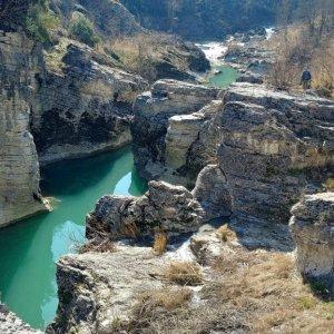"Marmitte dei Giganti down in the ""canyon"""