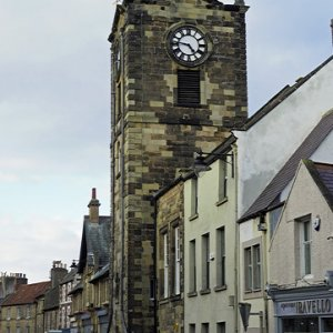 Town Hall clock tower, Alnwick