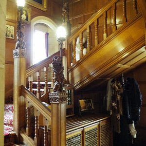 Main stairs, Cragside