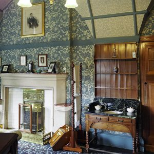 Owl Bedroom, Cragside
