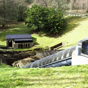 Pump House and Archimedes Screw, Cragside