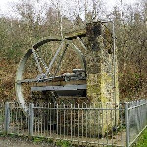 Waterwheel, Cragside