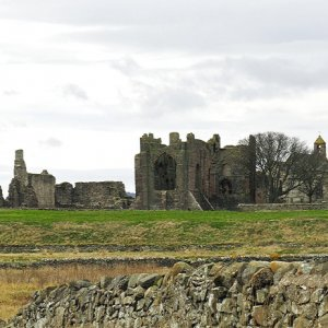 Lindisfarne Priory and St Mary's Church