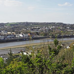 View across to Bideford from Chudleigh Fort