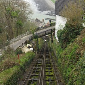 Lynmouth and Lynton Cliff Railway