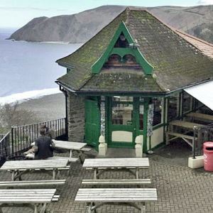 Cafe, Lynmouth and Lynton Cliff Railway