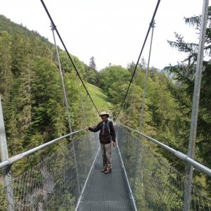 Leiternweide Suspension Bridge