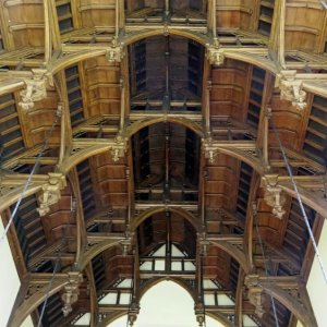 Great Hall - hammer beam roof