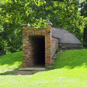Sculpture Garden - ice house