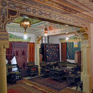 House of the Bey carpet shop, Kairouran