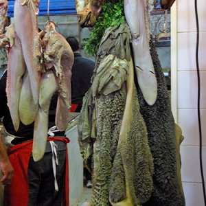 Butchery, Central Market, Tunis