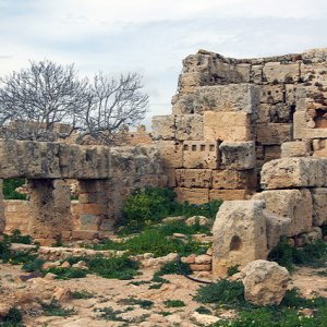 Remains of the Byzantine citadel) built inside Kelibia fortress