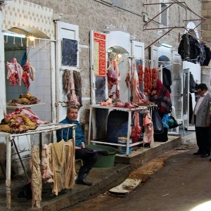 Butchers, Sfax Market