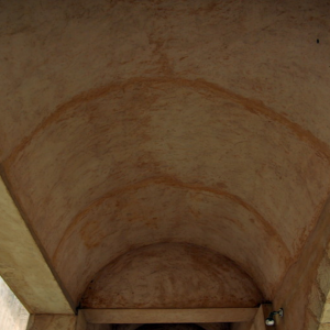 Sfax Kasbah - ceiling construction used in oblong rooms