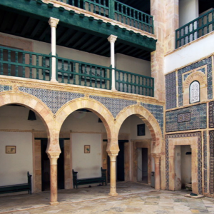 Dar Jellouli Museum of Popular Arts and Traditions, main courtyard