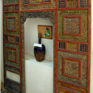 Dar Jellouli Museum of Popular Arts and Traditions, bedscreen