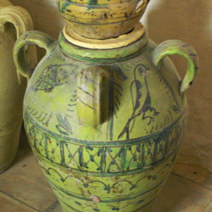 Dar Jellouli Museum of Popular Arts and Traditions, storage jar
