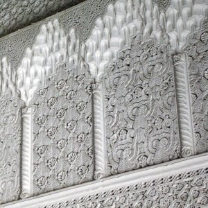 Dar Lasram, Tunis , decorative plasterwork