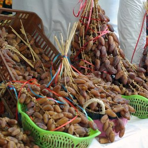 Tunis Central Market - dates