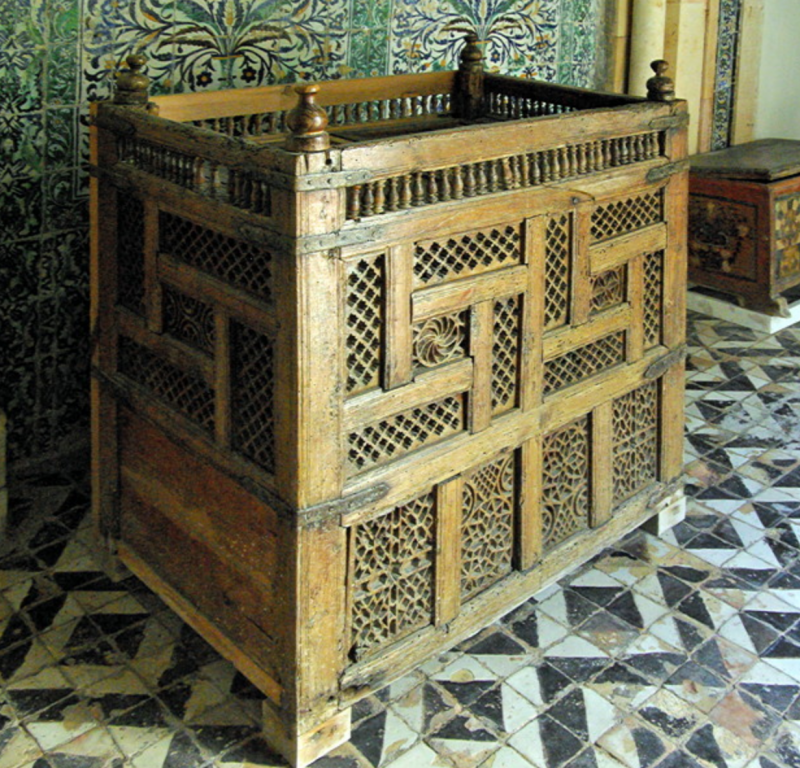 Dar Jellouli Museum of Popular Arts and Traditions, chest