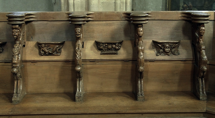 Foix, Abbatiale St-Volusien - choir stalls
