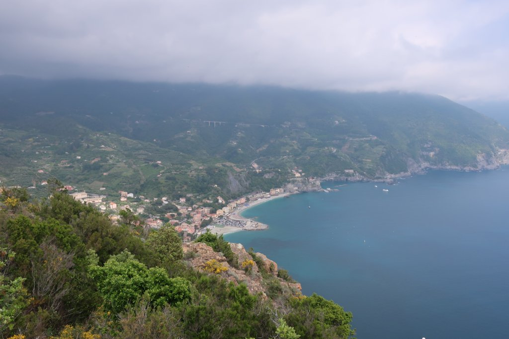 Hike from Levanto to Monterosso