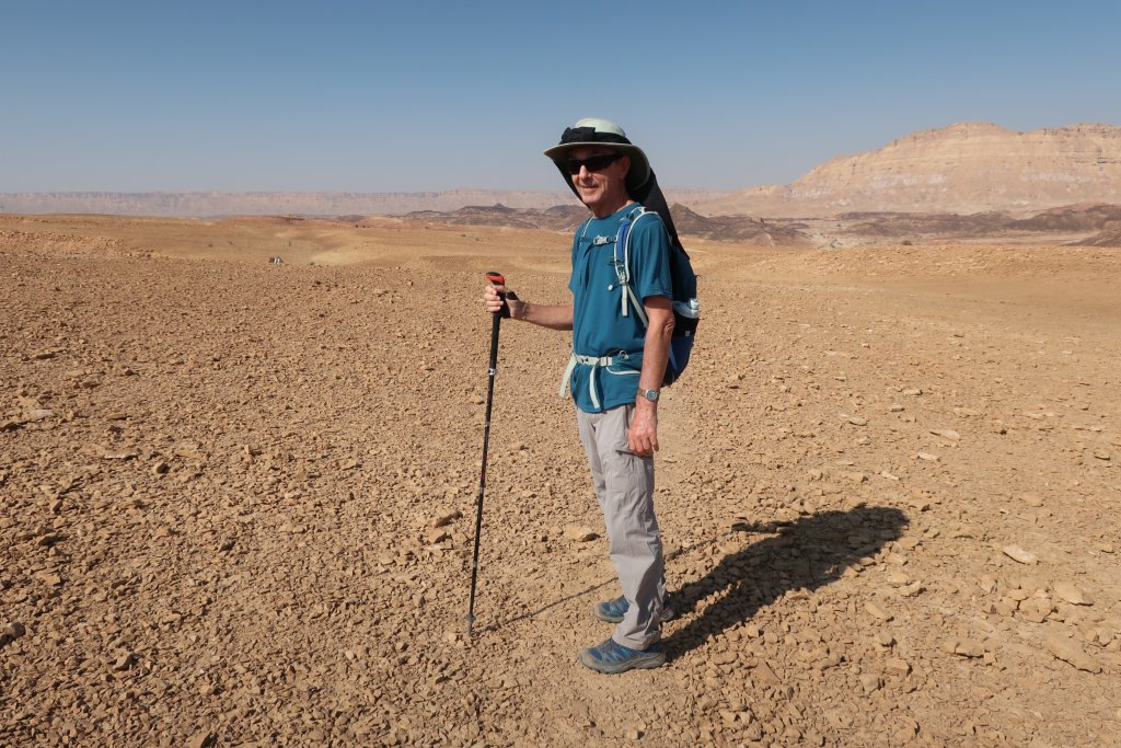 Hiking in the Ramon Crater
