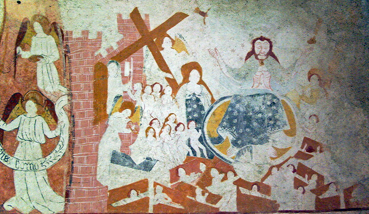 Jouhet, Funerary Chapelle Ste-Catherine - Last Judgement.png
