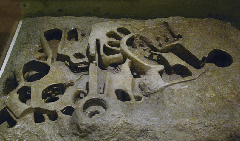 Model of Hal Saflieni Hypogeum