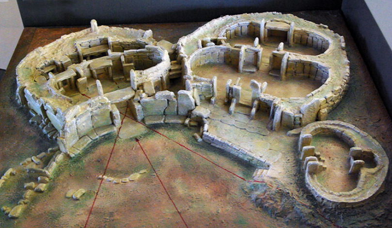 Model of Mnajdra Temples