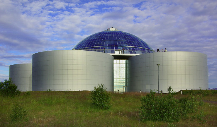 Perlan - Geothermal Storage Tanks But Also Home To A Museum And Restaurant