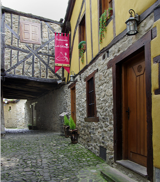 Potes, old town