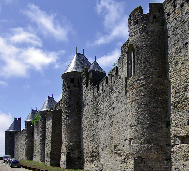 Ramparts at Carcassonne