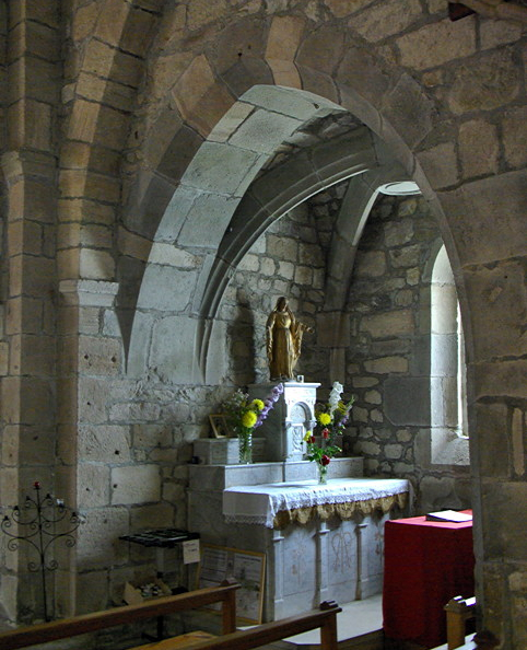 Saint-Pierre-Eynac, church - side chapel