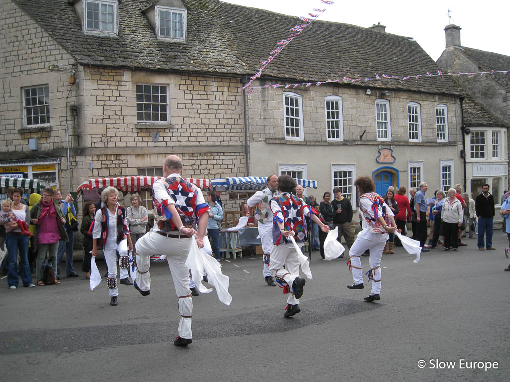 The Cotswolds - Morris Dancers