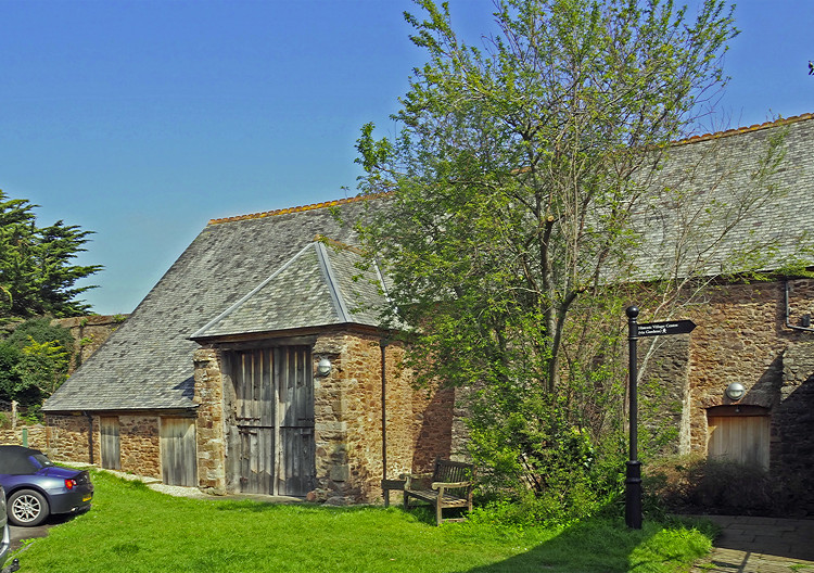 Tithe Barn, Dunster