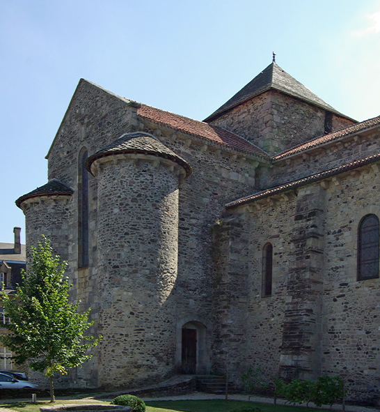 Uzerche, Abbey of St Peter