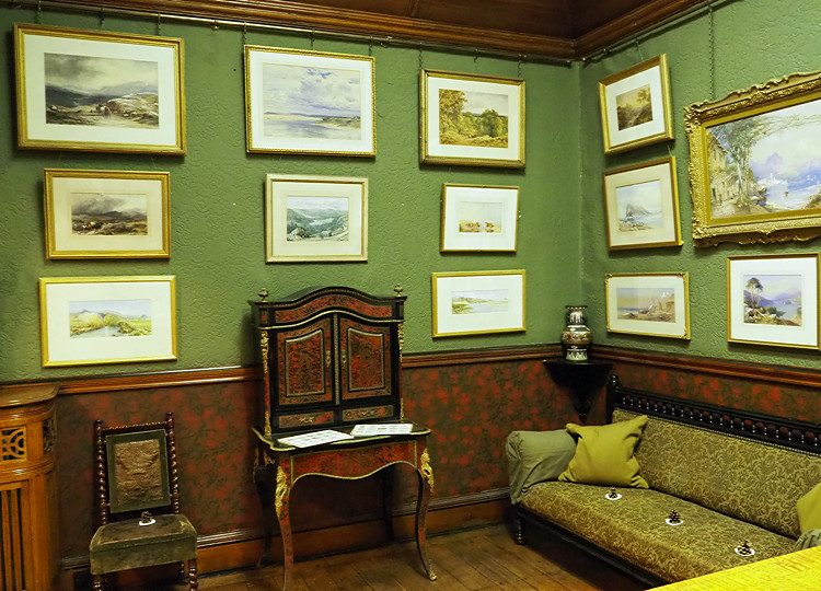 Water colour gallery, Cragside